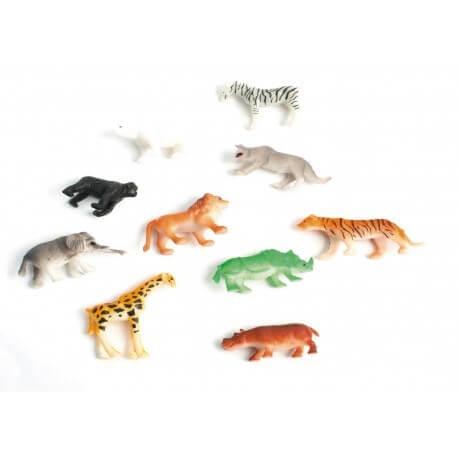 Animal du Zoo 4/5cm