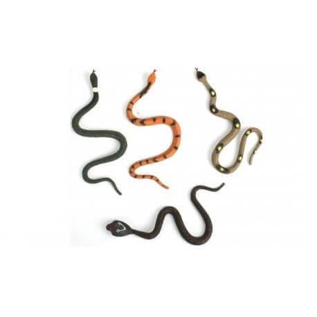 Serpent en plastique 17cm