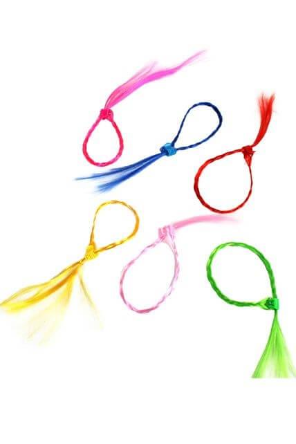 Accessoires mèche cheveux à clip