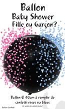 Ballons confettis Fille ou Garçon?