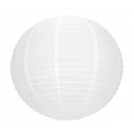 Lanterne Japonaise blanche 35cm