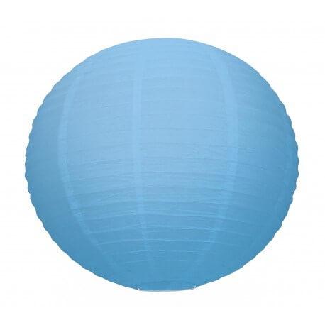 Lanterne Japonaise bleu clair 35cm