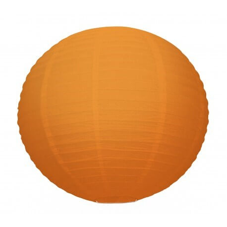 Lanterne Japonaise orange 35cm