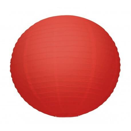 Lanterne Japonaise rouge 35cm