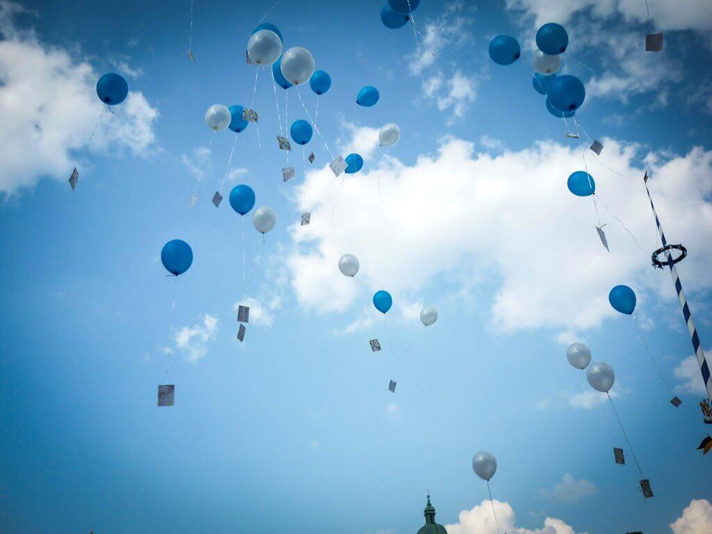 Filet pour lâcher de ballons (200 Ballons)