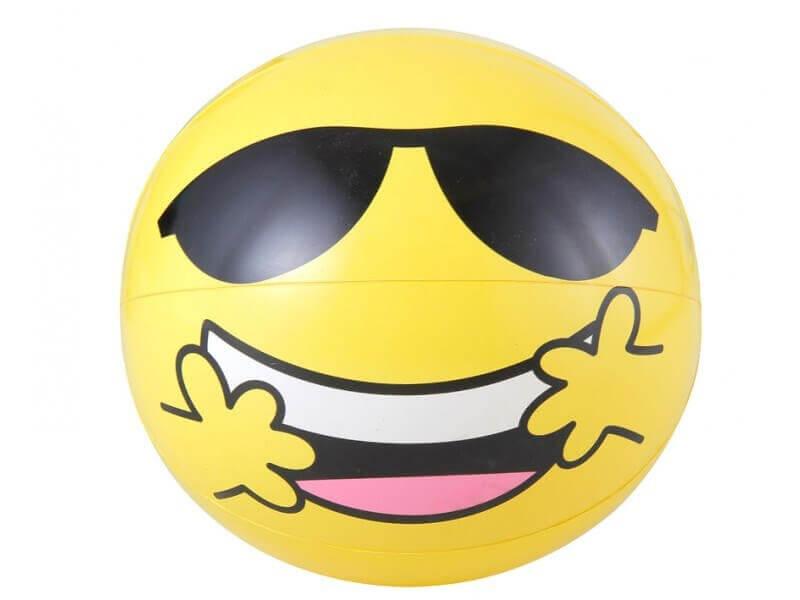 Ballon Gonflable Jaune SMILEY 51cm