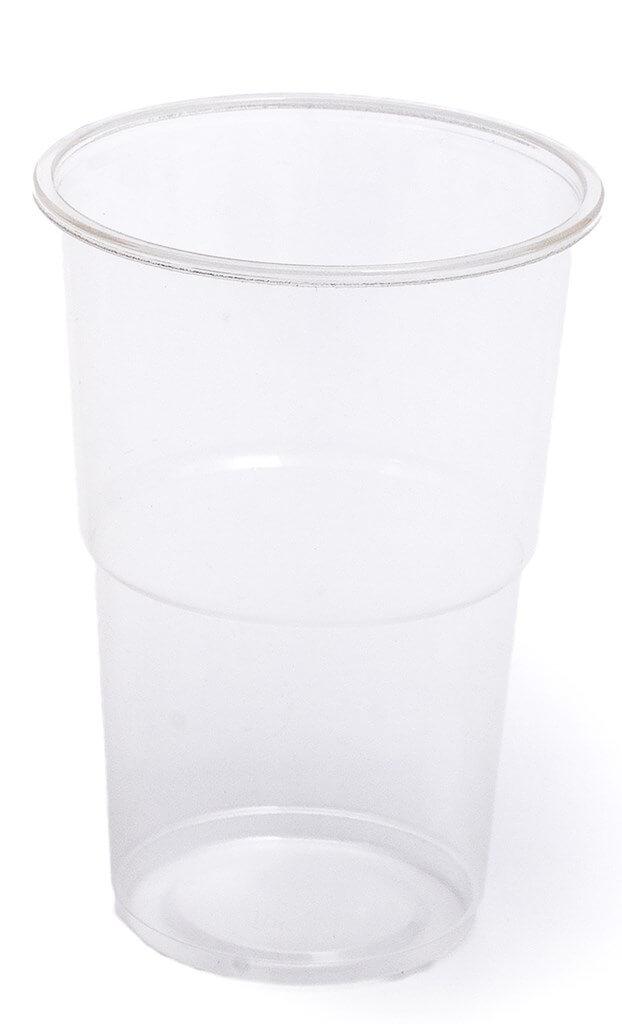 Gobelet Biodégradable PLA transparent 25cl (lot de 50)