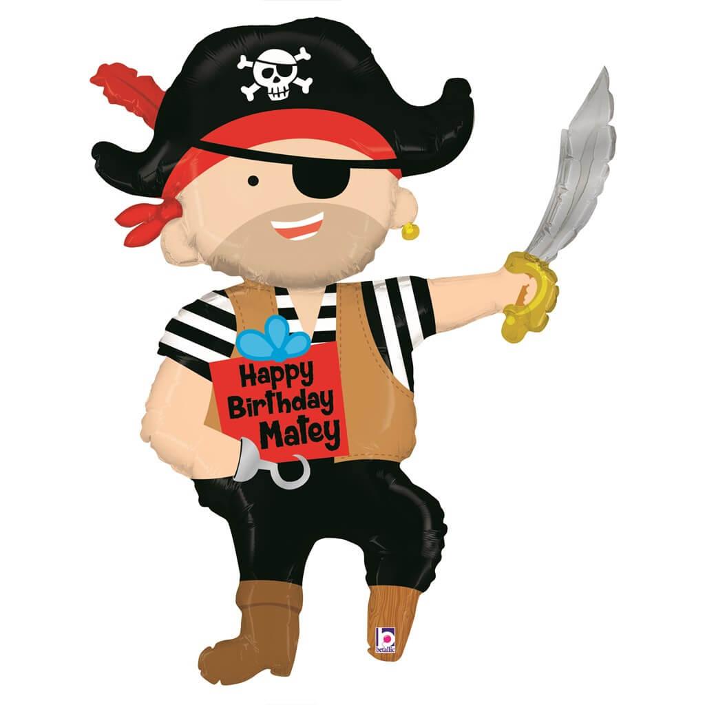Ballon Pirate Anniversaire 112cm