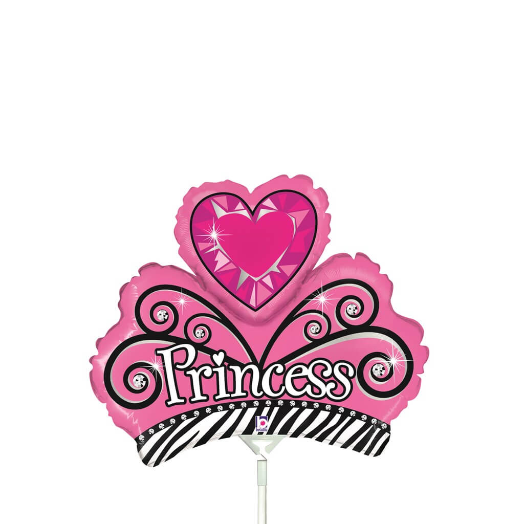 Ballon Couronne Princesse 36cm
