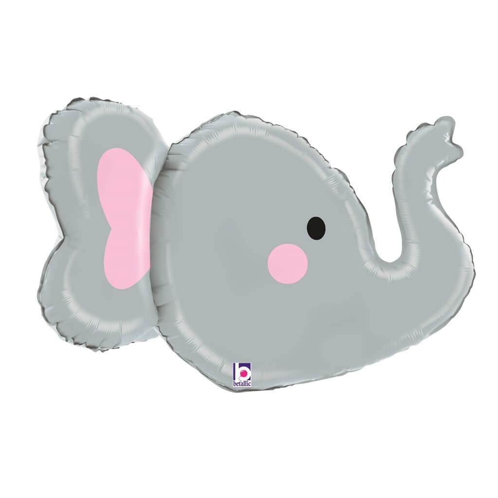 Ballon Tête d'Elephant 3D 86cm