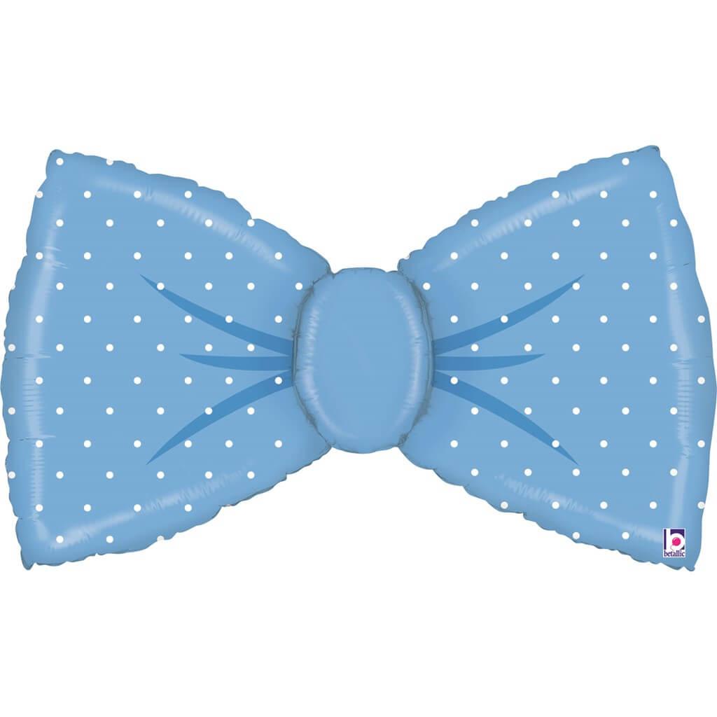 Ballon Noeud Papillon Bleu 107cm