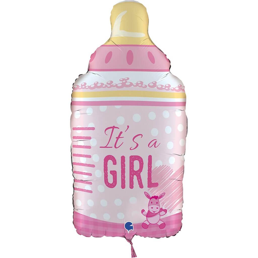 "Ballon Biberon ""It's a Girl"" 74cm"