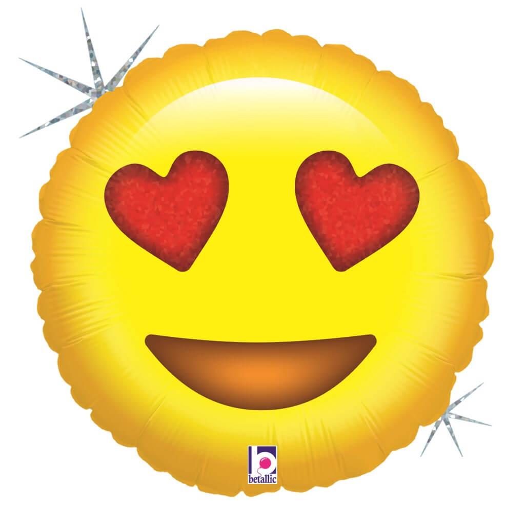 Ballon Emoji Love ø45cm