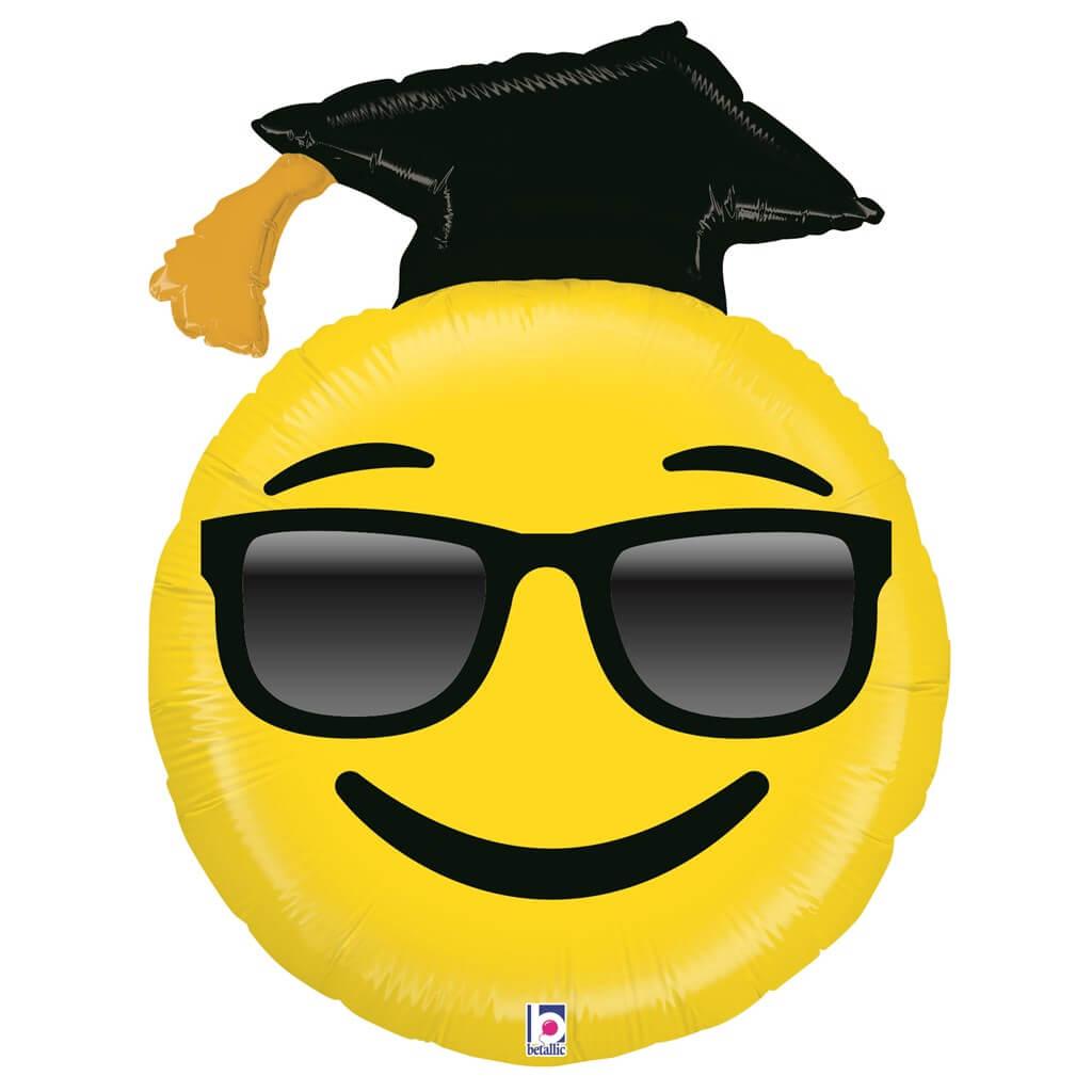Ballon Emoji Diplômé ø94cm