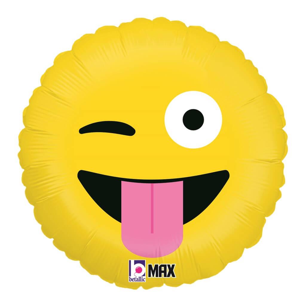 Ballon Emoji Farfelu ø45cm