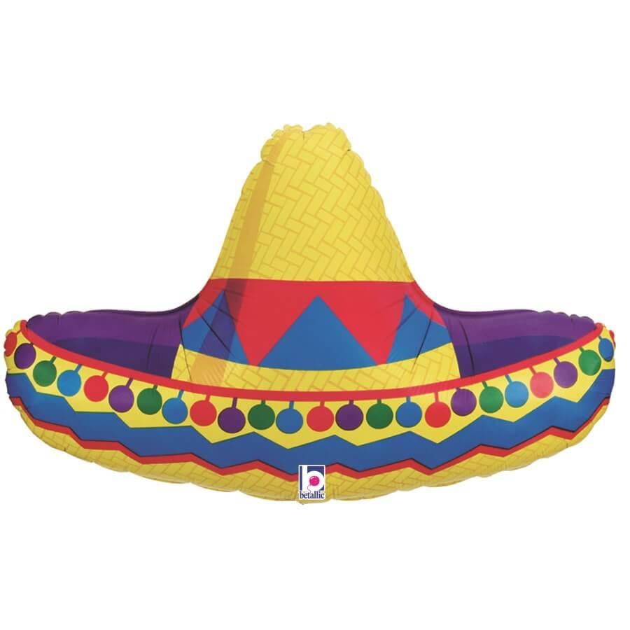 Ballon Chapeau Sombrero 86cm