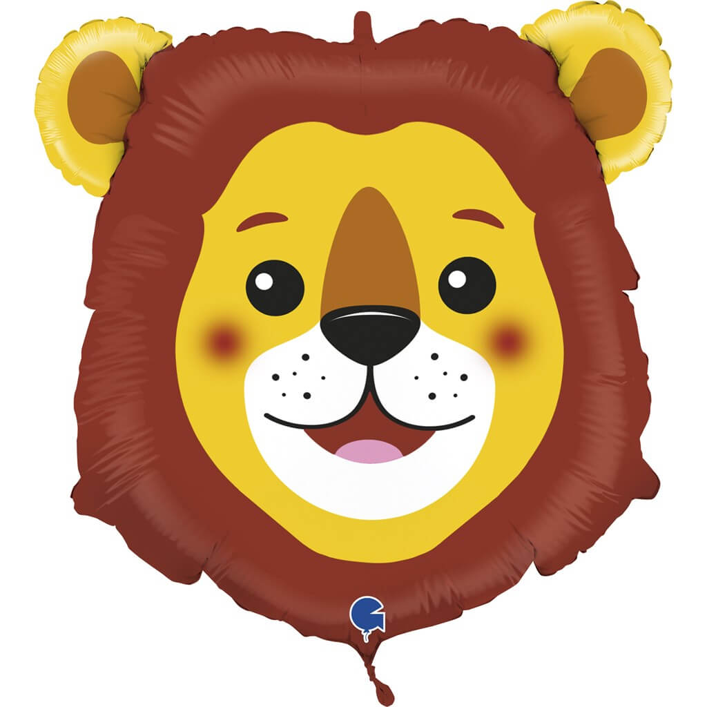 Ballon tête de Lion 74cm
