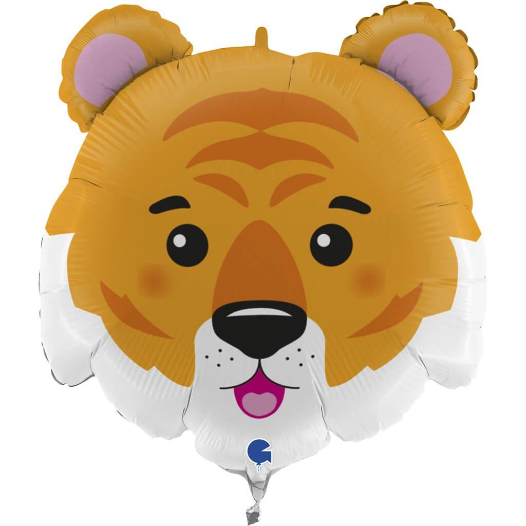 Ballon tête de Tigre 71cm