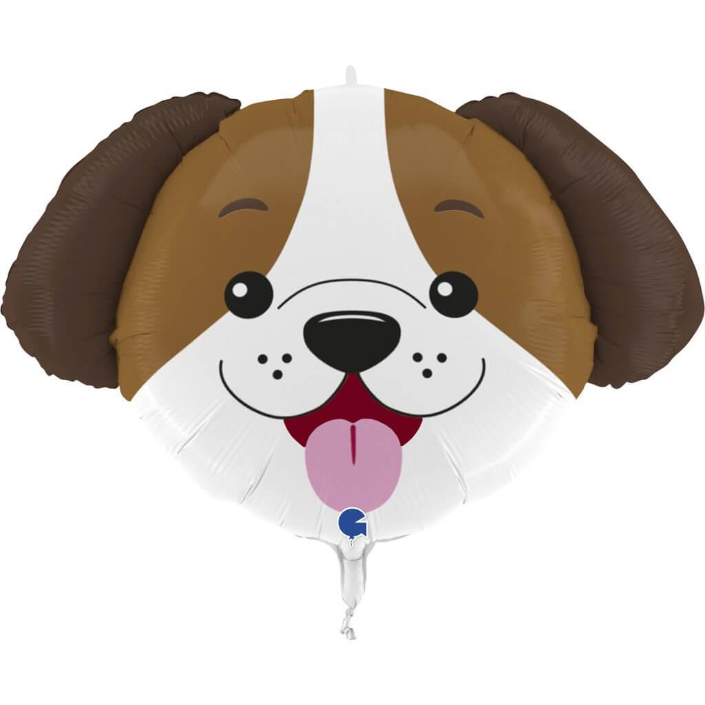 Ballon tête de chien 84cm