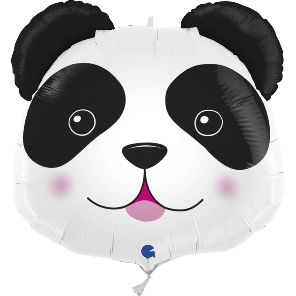 Ballon Tête de Panda 74cm