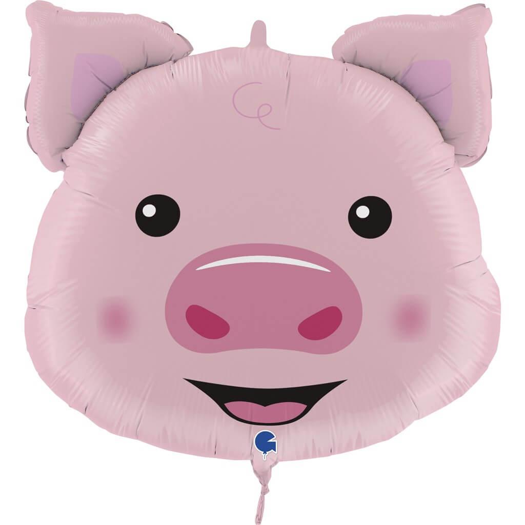 Ballon Tête de Cochon 76cm