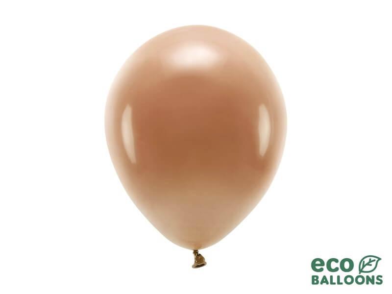 Lot de 100 ballons de baudruche Biodégradable Chocolat