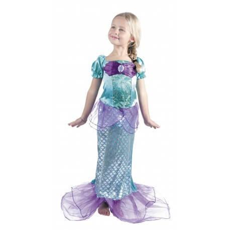 Costume Sirène 4-6 ans