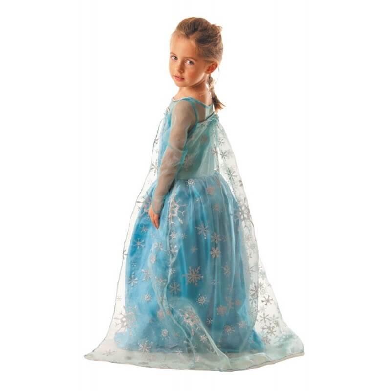 Costume enfant Princesse des Glaces 7-9 ans