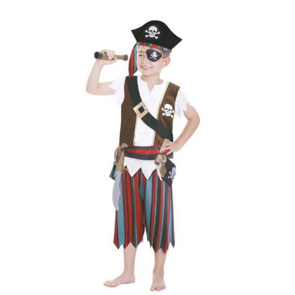 Déguisement Pirate enfant avec accessoires 3-6 ans