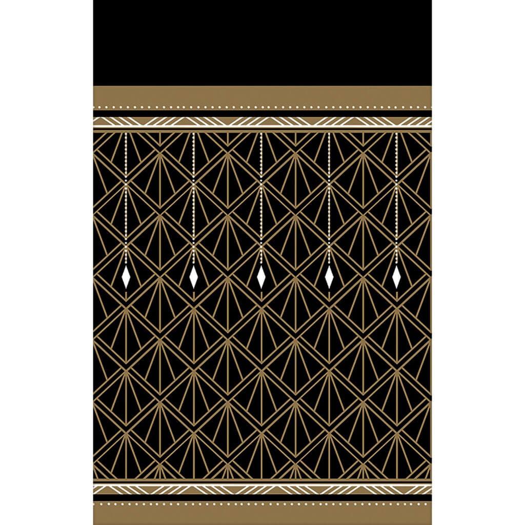 Nappe en papier Gatsby 137x243cm
