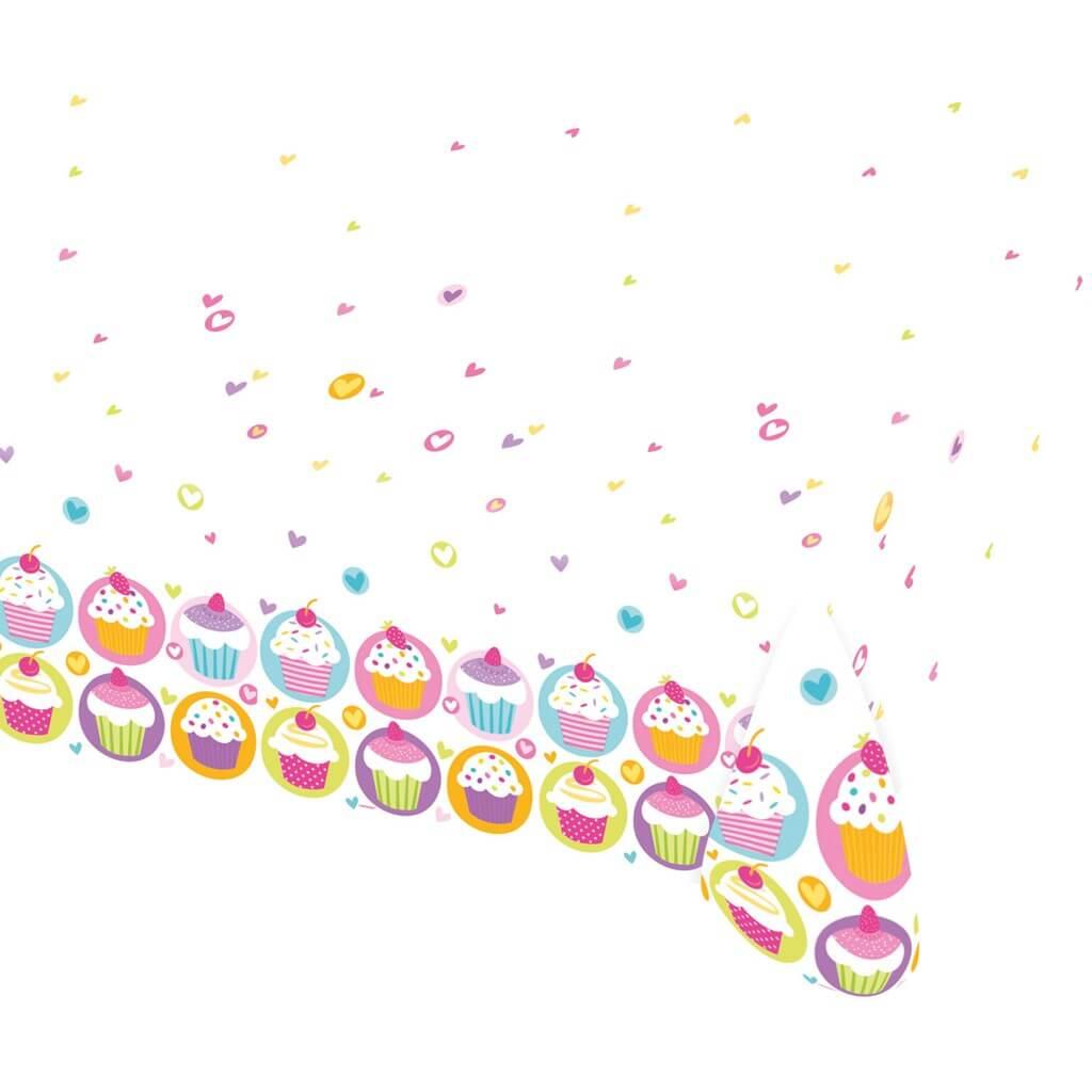 Nappe Avec Motifs Cupcake 120x180cm
