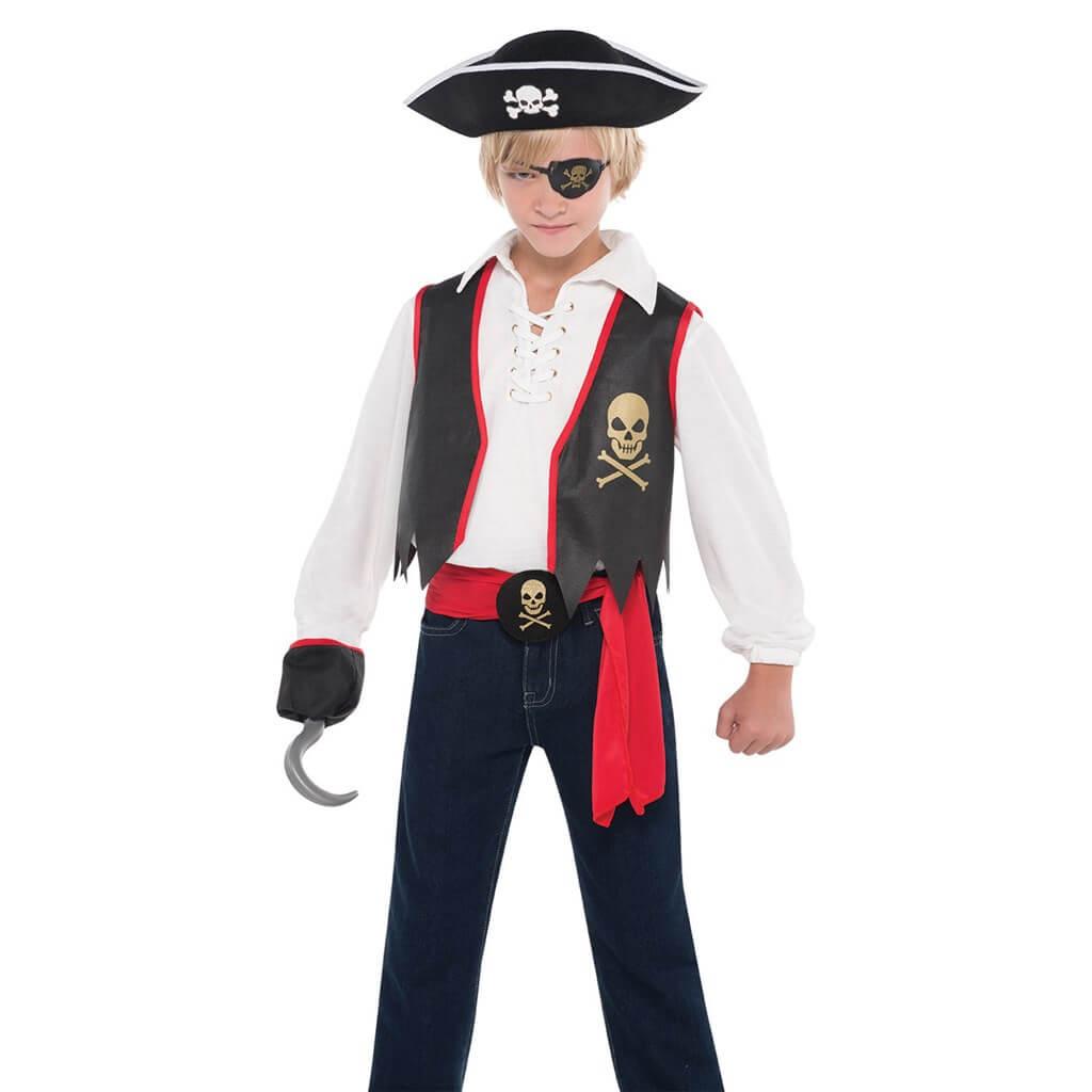 Costume Pirate enfant 8-10 ans