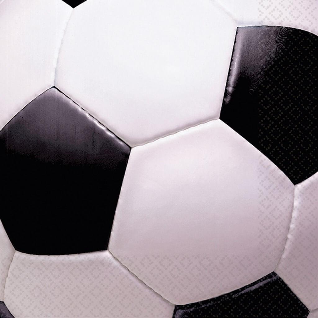 Serviette en papier carré Ballon de Foot