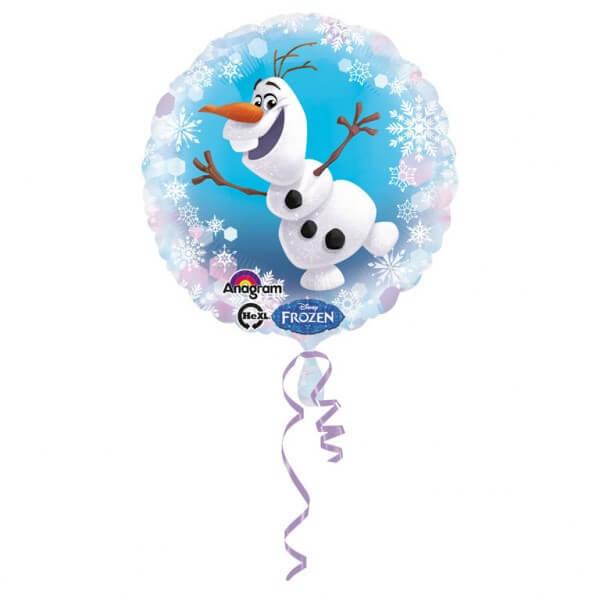 Ballon aluminium Olaf Reine des Neiges ø43cm