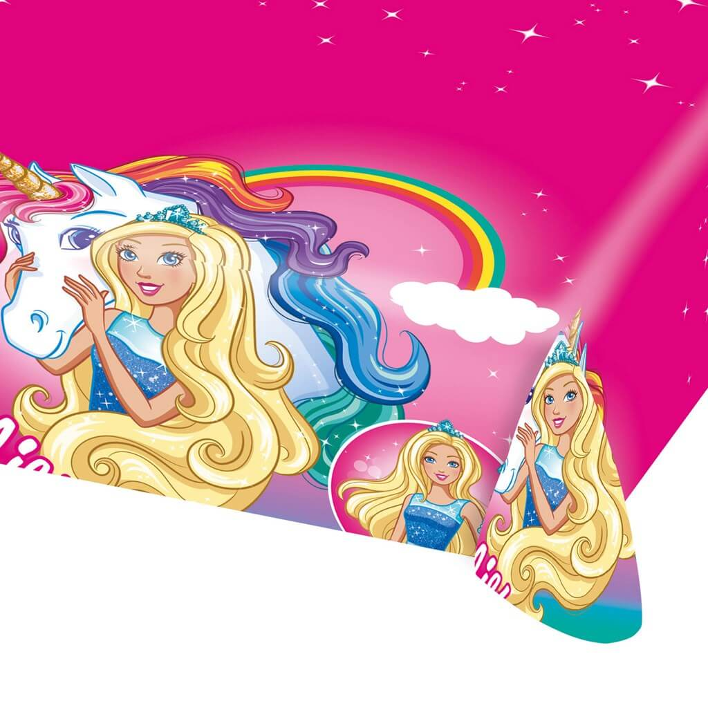 Nappe en plastique Barbie Dreamtopia