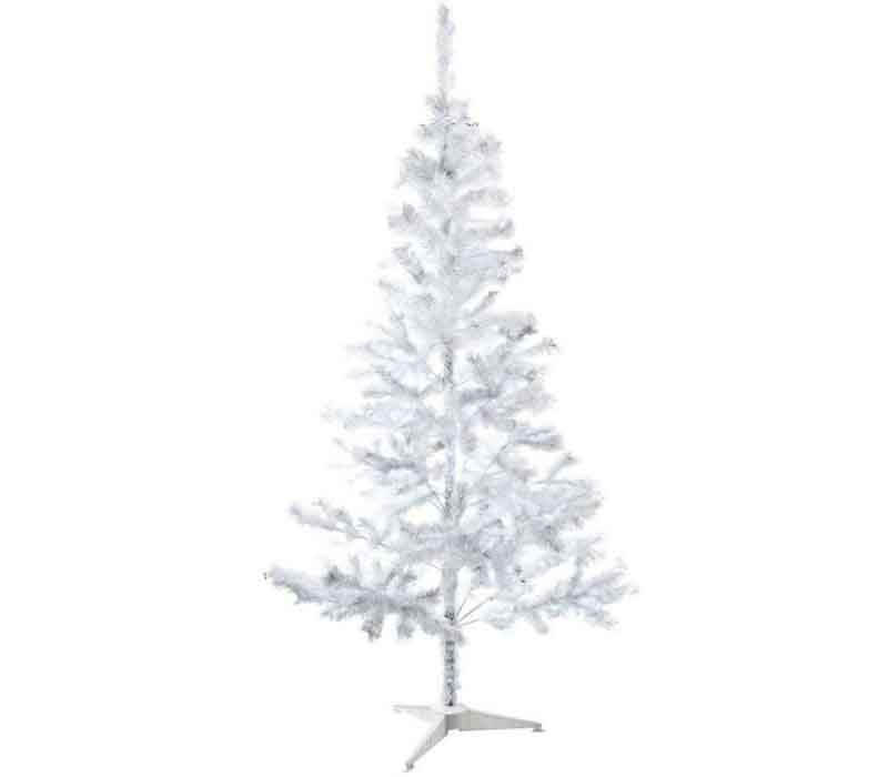 Sapin de Noël artificiel blanc 180cm