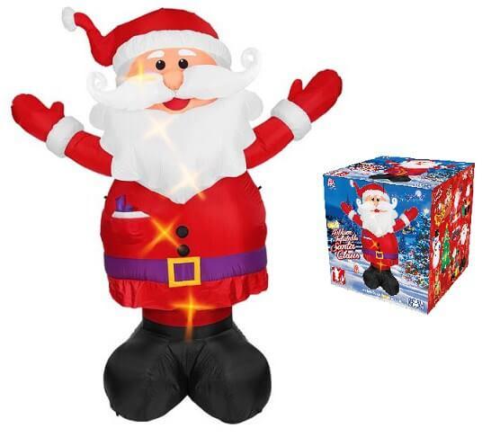 Père Noël gonflable lumineux Géant 3 mètres
