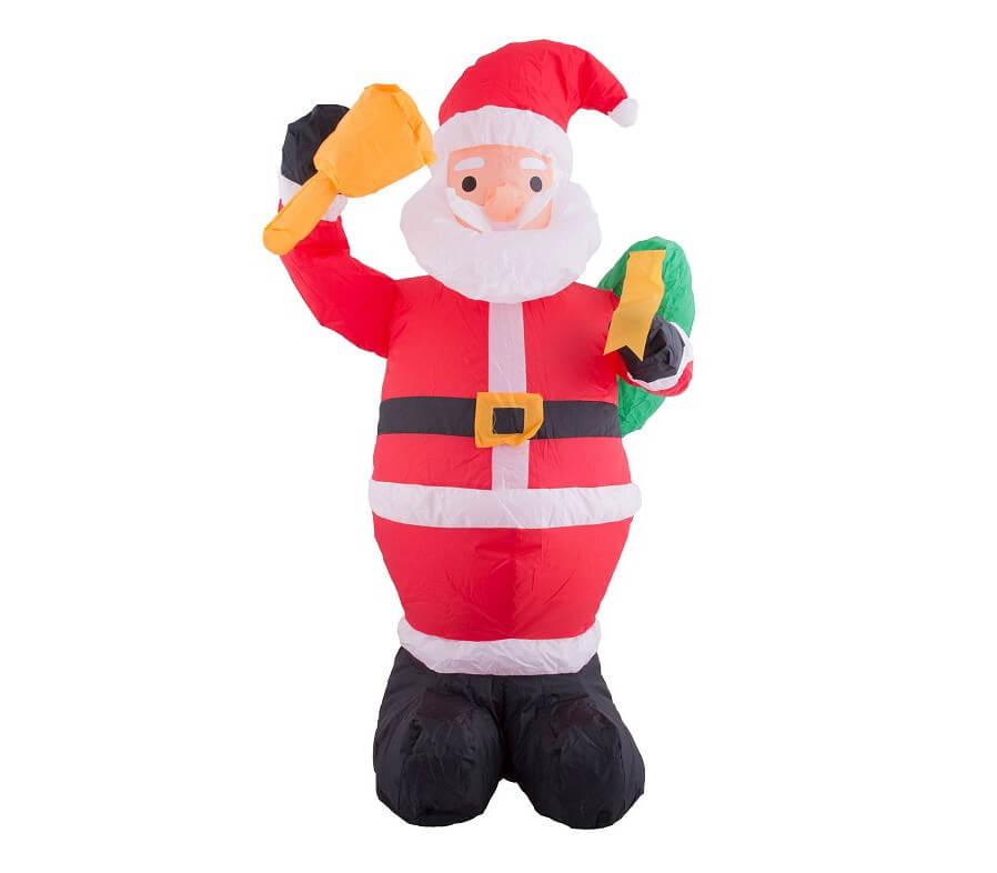père Noël gonflable et lumineux 120cm