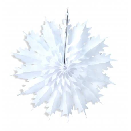 Flocon de neige en papier de soie 48cm