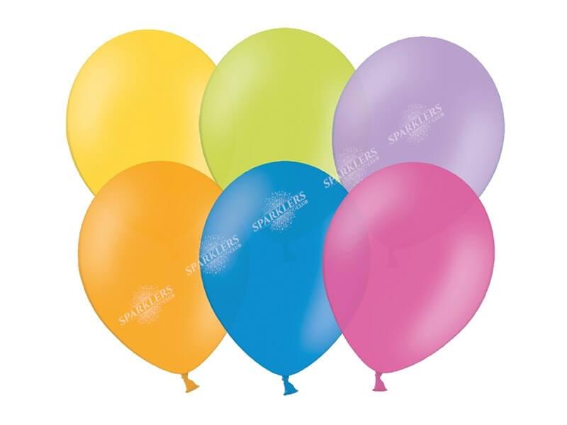 Lot de 5 Ballons Couleurs Mixtes Multicolore