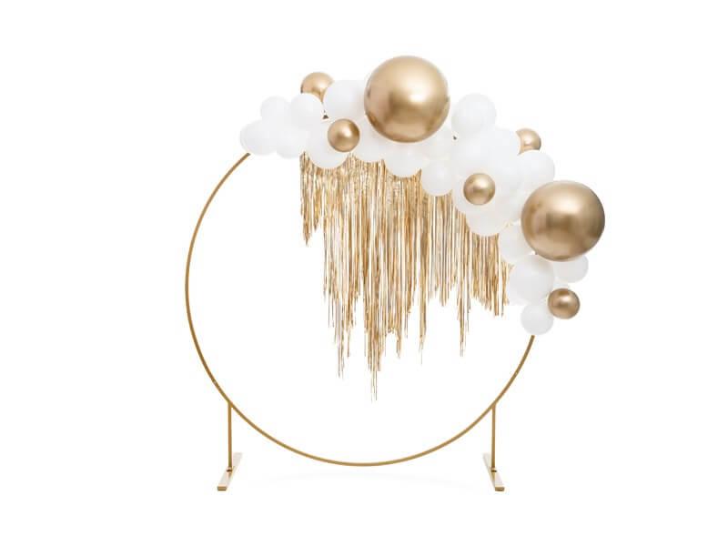 Ballon Rond Or Métallique ø60cm