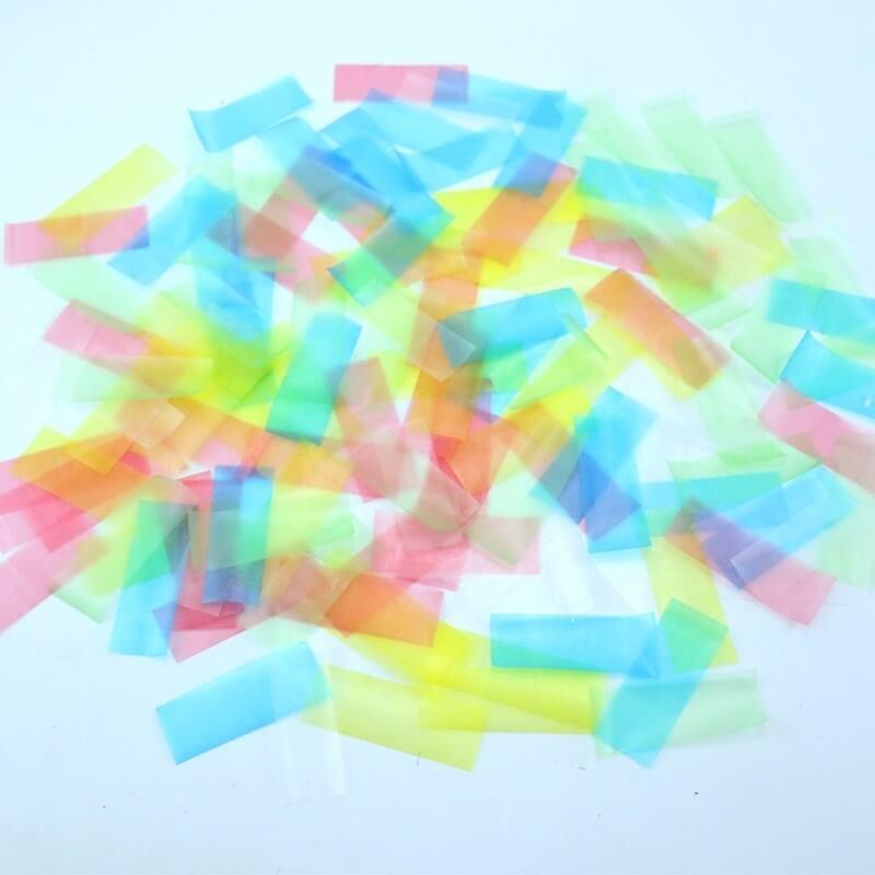 Canon à confettis manuel multi 100% Biodégradable 80cm