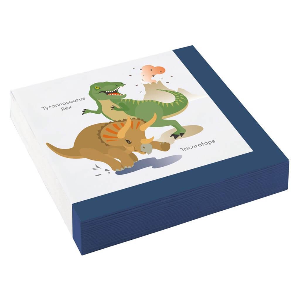 Serviette en papier Dinosaure (lot de 20)