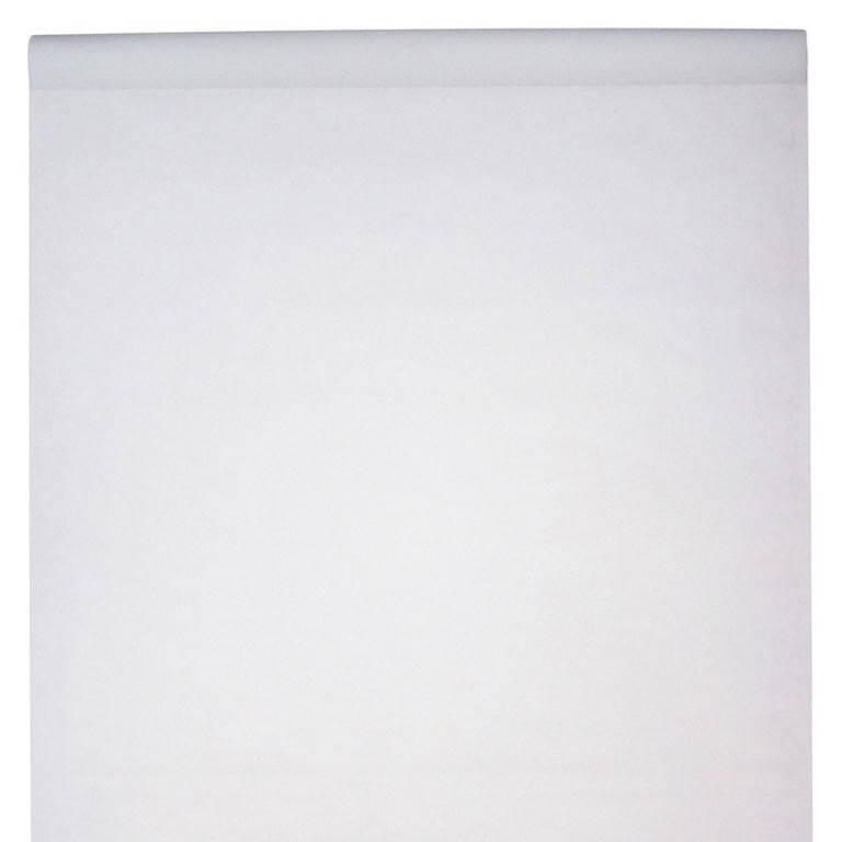 Nappe en rouleau intissée blanche 10 mètres