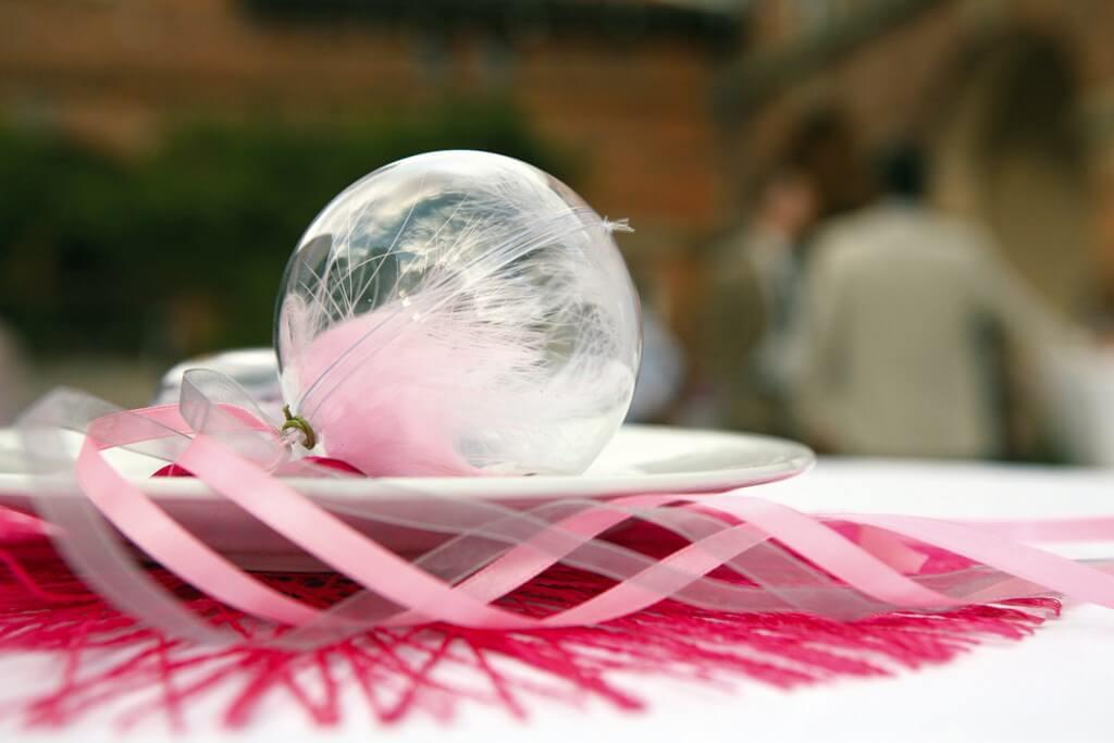 Boule transparente ø8cm (ot de 20)