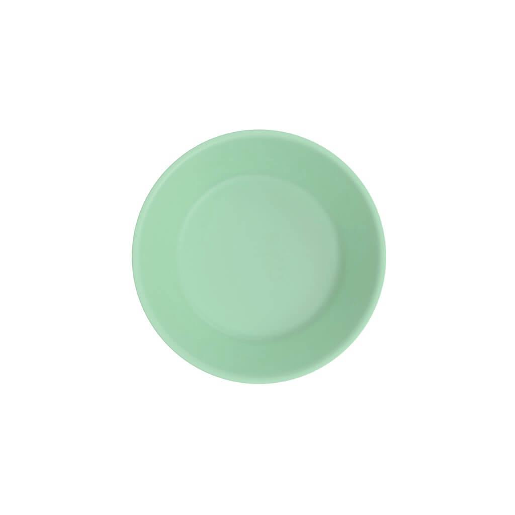 Assiette Creuse Incassable Vert Pastel ø 18cm (Lot de 6)