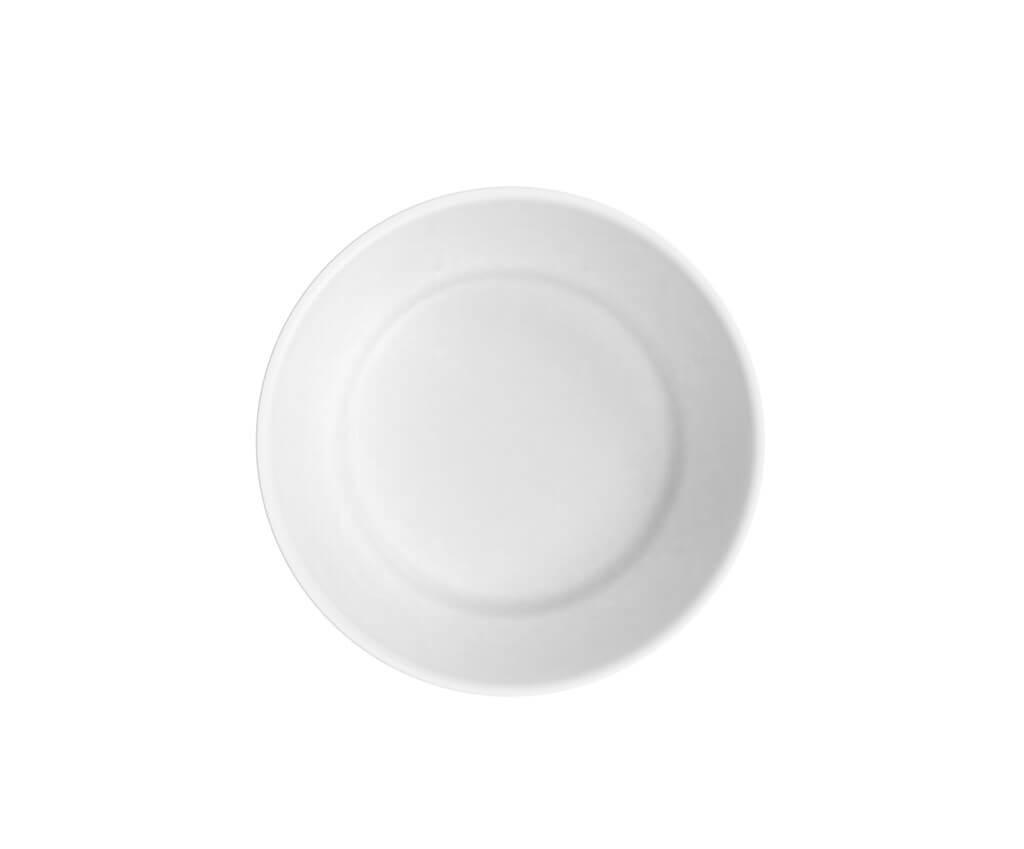 Assiette Creuse Incassable blanche ø 18cm (Lot de 6)