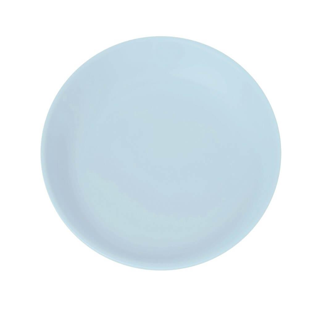 Assiette Plate Incassable Bleu clair ø27,5cm (Lot de 6)