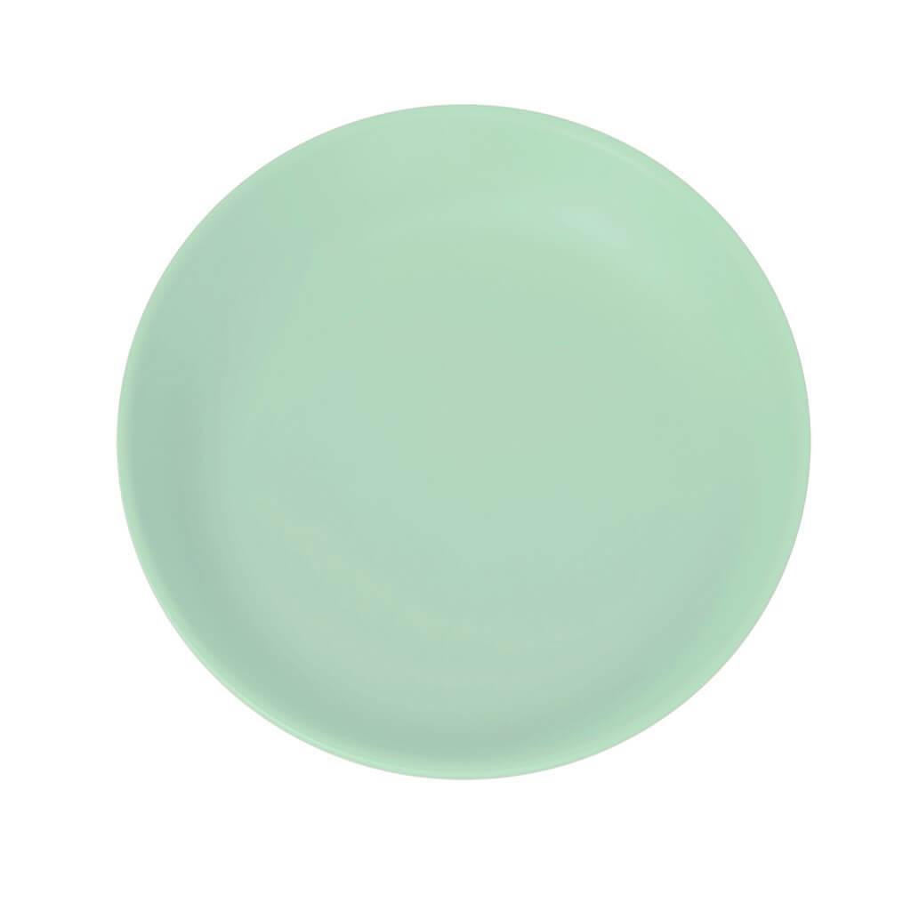 Assiette Plate Incassable Vert Pastel ø 27,5cm (Lot de 6)