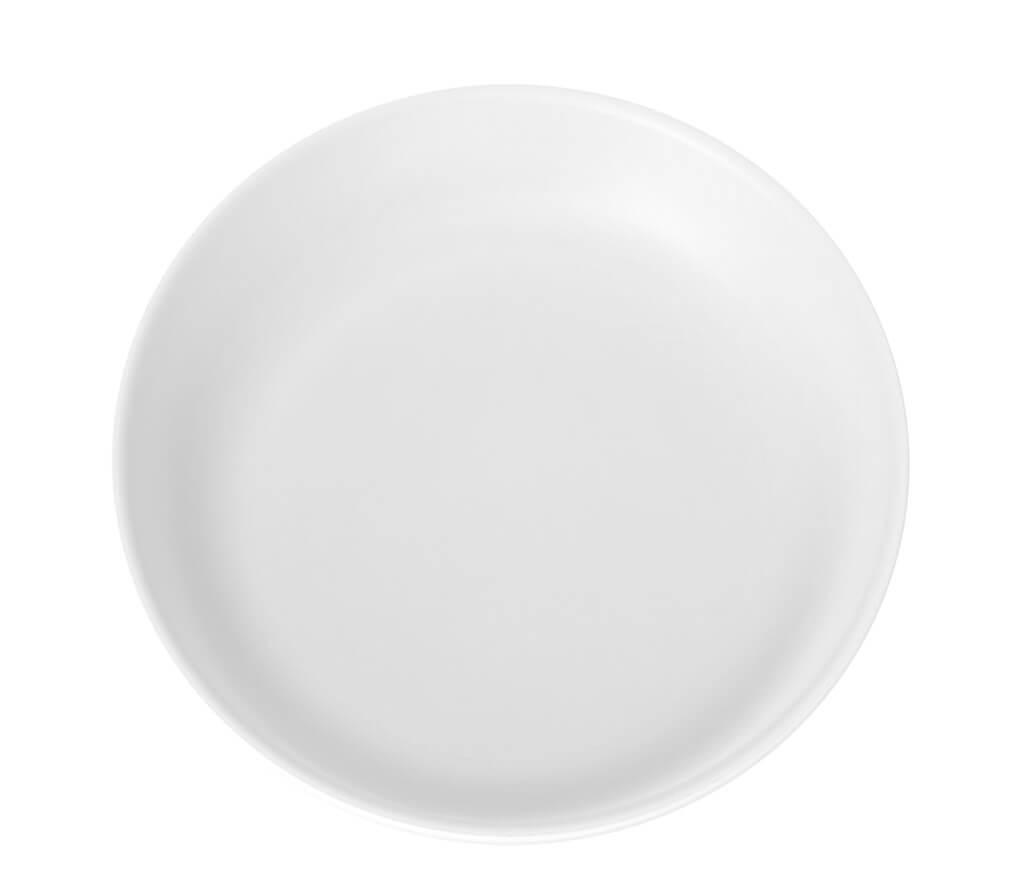 Assiette Plate Incassable blanche ø 27,5cm (Lot de 6)